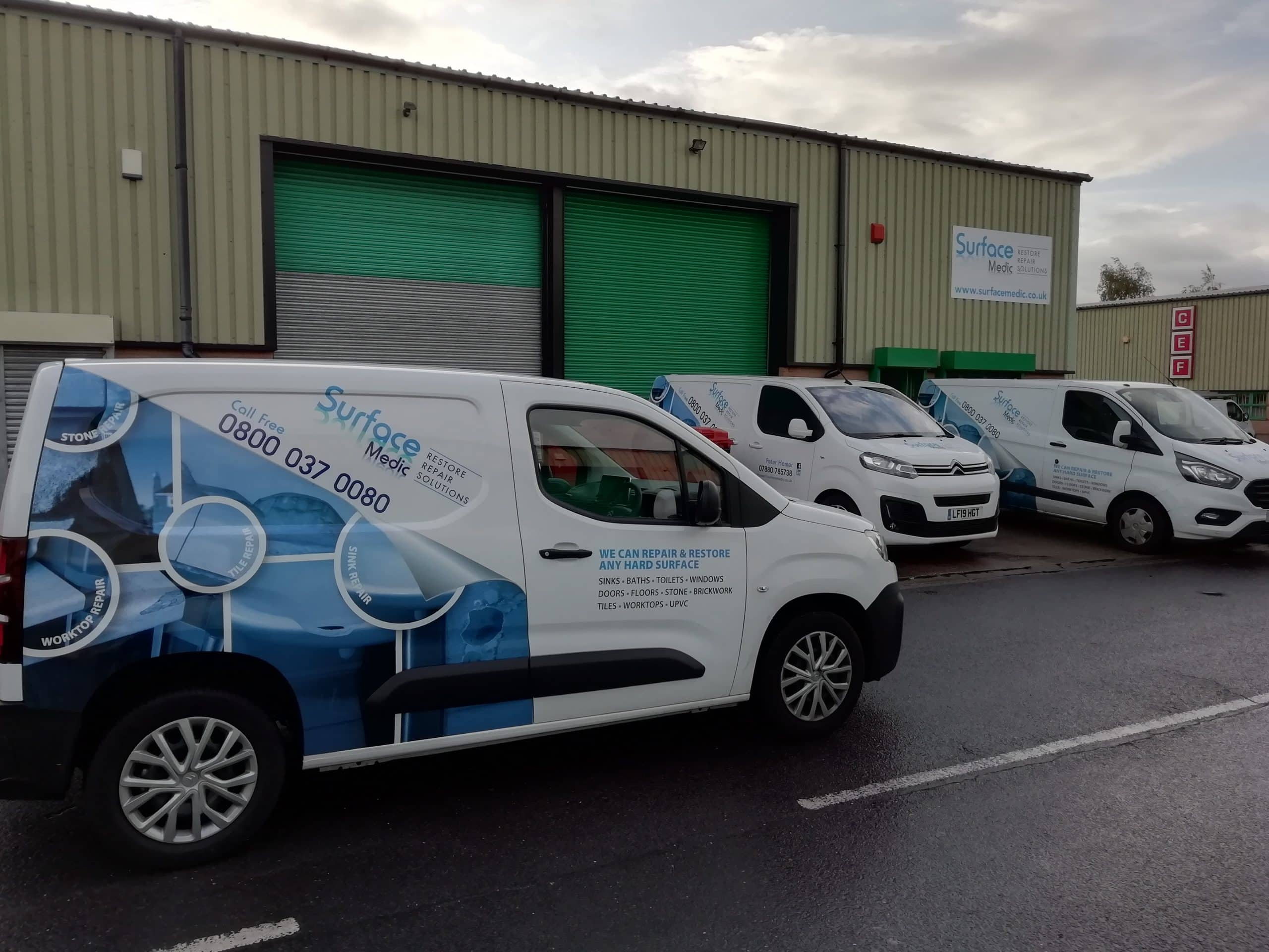Fleet Signwriting