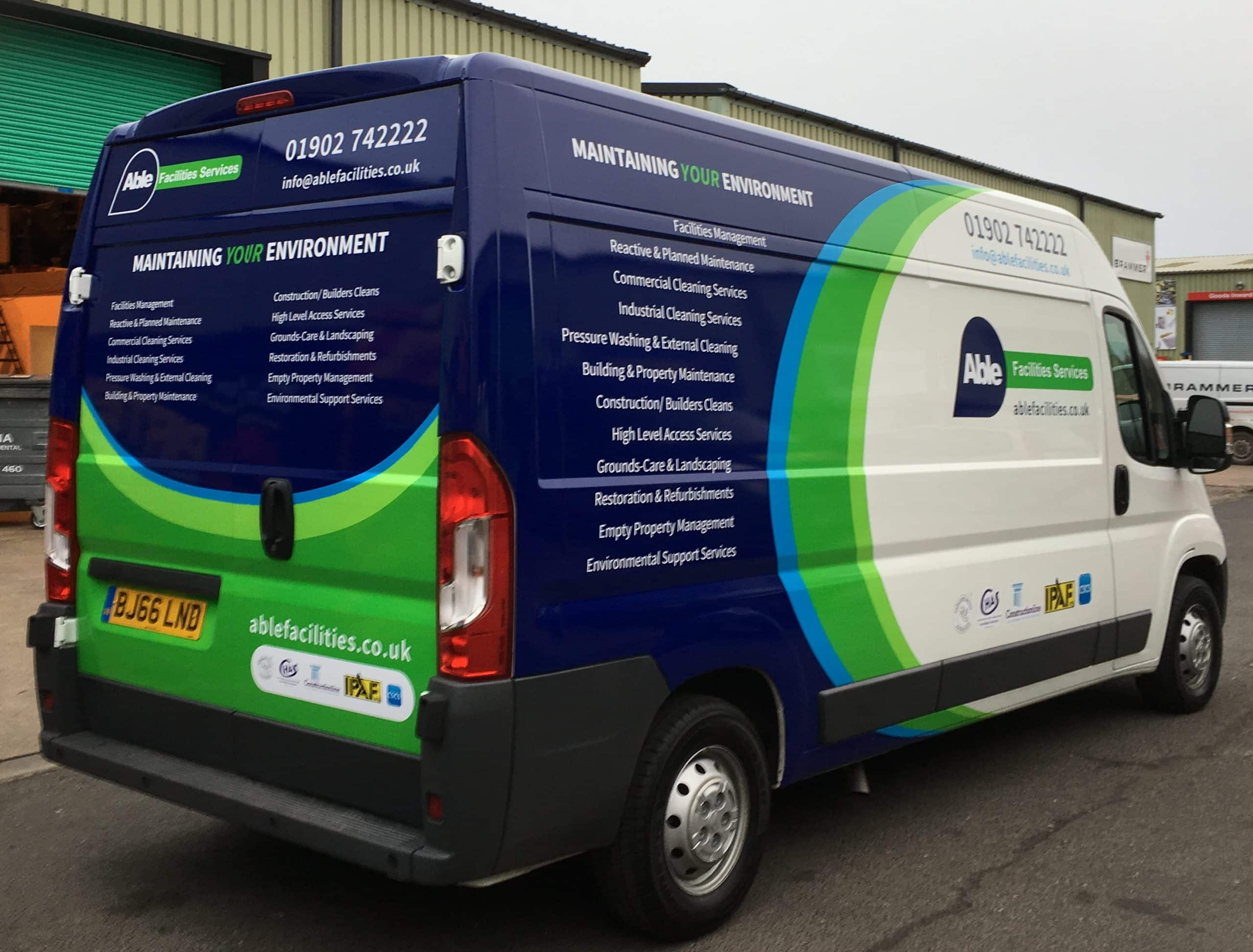 Van Wrapping West Midlands